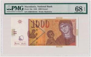 Macedonia, 1.000 denari 1996