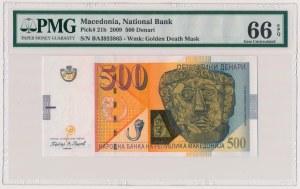 Macedonia, 500 denari 2009