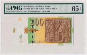 Macedonia, 200 denari 2016