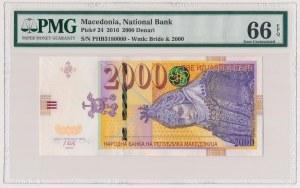 Macedonia, 2.000 denari 2016
