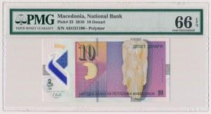 Macedonia, 10 denari 2018