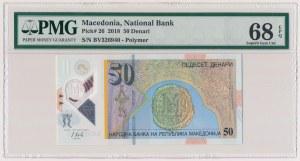 Macedonia, 50 denari 2018