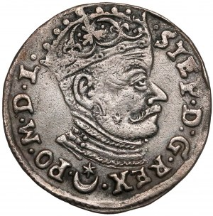 Stefan Batory, Trojak Wilno 1581 - Leliwa - średnie Zęby