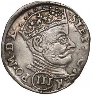 Stefan Batory, Trojak Wilno 1581 - (III)