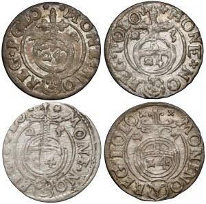 Zygmunt III Waza, Półtoraki Bydgoszcz 1622-1627 (4szt)