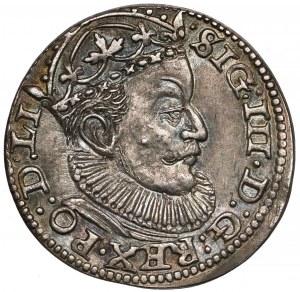 Zygmunt III Waza, Trojak Ryga 1589 - znak po GE