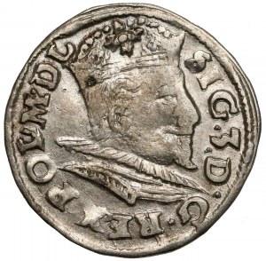 Zygmunt III Waza, Trojak Lublin 1596 - data przy Lewarcie