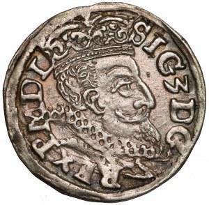 Zygmunt III Waza, Trojak Lublin 1598 - monogram
