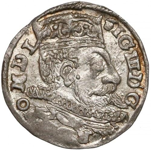 Zygmunt III Waza, Trojak Lublin 1598 - L w dacie - piękny