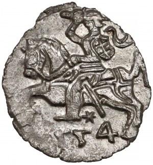 Zygmunt II August, Denar Wilno 1554