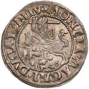 Zygmunt II August, Półgrosz Wilno 1546 - piękny