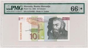 Słowenia, 10 tolarjev 1992