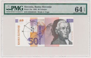 Słowenia, 50 tolarjev 1992