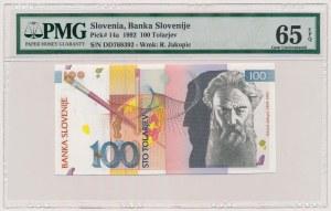 Słowenia, 100 tolarjev 1992