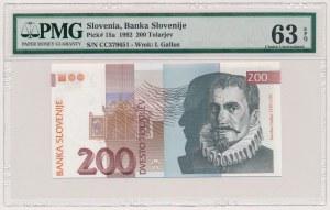 Słowenia, 200 tolarjev 1992
