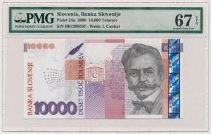 Słowenia, 10.000 tolarjev 2000