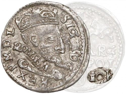 Zygmunt III Waza, Trojak Lublin 1601 - data i IF w LINII (R6)