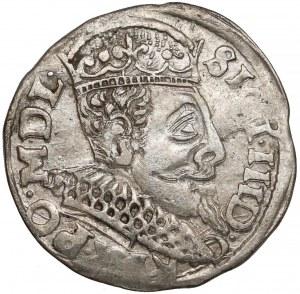 Zygmunt III Waza, Trojak Wschowa 1597 - szeroka głowa