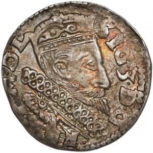 Zygmunt III Waza, Trojak Lublin 1600 - z kryzą - ładny