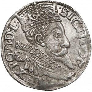 Zygmunt III Waza, Trojak Bydgoszcz 1597 - z kokardą