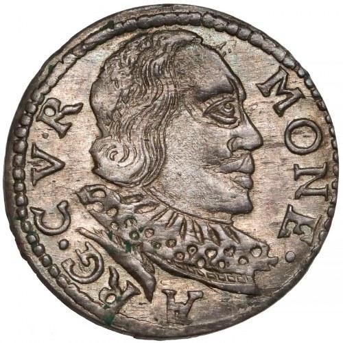Kurlandia, Wilhelm Kettler, Trojak Mitawa 1598 - CV∙R - piękny