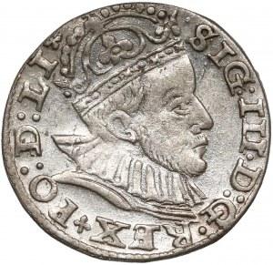 Zygmunt III Waza, Trojak Ryga 1588 - mała głowa