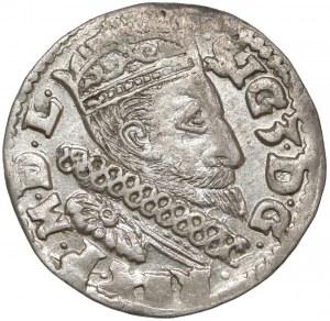 Zygmunt III Waza, Trojak Lublin 1600 - z kryzą - b.ładny