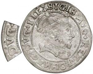 Zygmunt II August, Grosz na stopę litewską 1546 - błąd DVG - b. rzadki