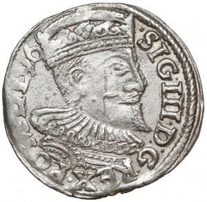 Zygmunt III Waza, Trojak Wschowa 1596 - bardzo ładny