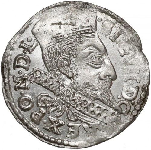 Zygmunt III Waza, Trojak Bydgoszcz 1598 - B z prawej - piękny