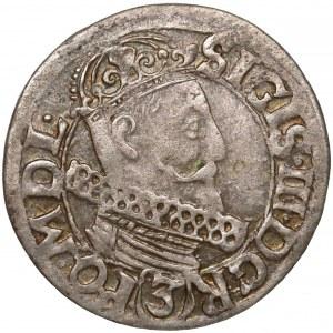 Zygmunt III Waza, 3 krucierze Kraków 1618