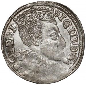 Zygmunt III Waza, Trojak Bydgoszcz 1596 - róża