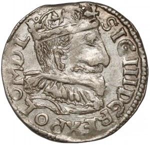Zygmunt III Waza, Trojak Bydgoszcz 1595 - kula nad FS