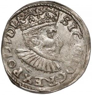 Zygmunt III Waza, Trojak Bydgoszcz 1595 - haki i VI