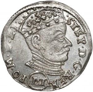 Stefan Batory, Trojak Wilno 1581 - (III) - piękny i rzadki