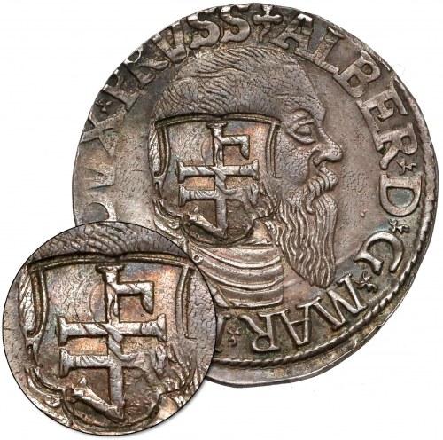 Oblężenie Gdańska, KONTRAMARKA na trojaku pruskim (1577)