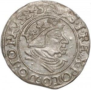 Zygmunt I Stary, Grosz Gdańsk 1538 - b. ładny