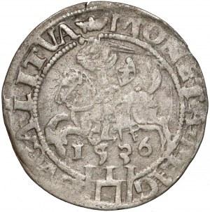Zygmunt I Stary, Grosz Wilno 1536 - litera F - luty - 3 listki