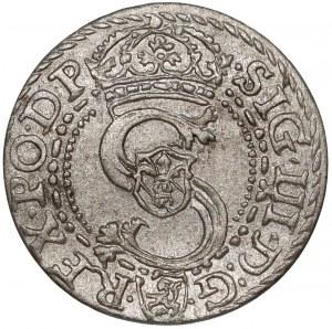 Zygmunt III Waza, Szeląg Kraków 1601 K - b.ładny