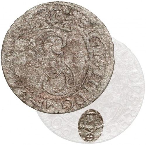Zygmunt III Waza, Szelągi Olkusz 1593 - 2x Topór - B.RZADKI