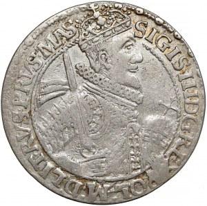 Zygmunt III Waza, Ort Bydgoszcz 1621 PRVS.MAS - wąska korona (R2)