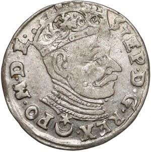 Stefan Batory, Trojak Wilno 1581 - Leliwa - małe Zęby