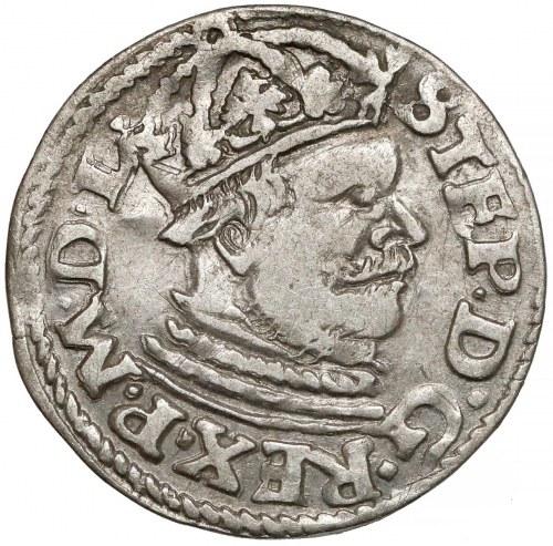 Stefan Batory, Trojak Poznań 1584 - mała głowa