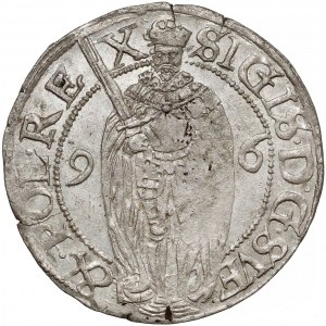 Zygmunt III Waza, 1 öre Sztokholm 1596 - piękny