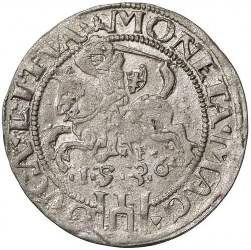 Zygmunt I Stary, Grosz Wilno 1536 - litera F - luty - b. ładny