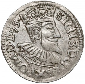 Zygmunt III Waza, Trojak Wschowa 1595 - data w otoku