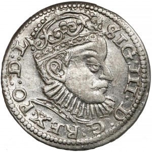 Zygmunt III Waza, Trojak Ryga 1588 - duża głowa