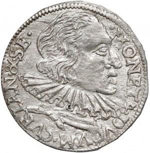 Kurlandia, Wilhelm Kettler, Trojak Mitawa 1599 - Stippla - rzadki