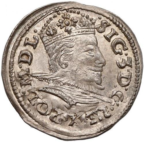 Zygmunt III Waza, Trojak Lublin 1595 - piękny