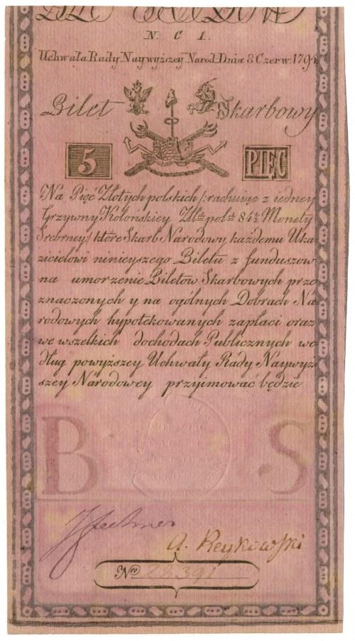 5 złotych 1794 - N.C 1.